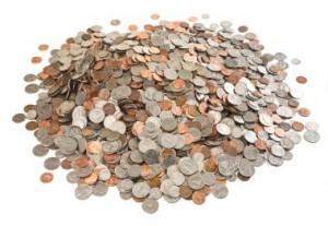 Un tas de pièces